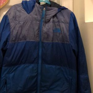 Reversible North face coat